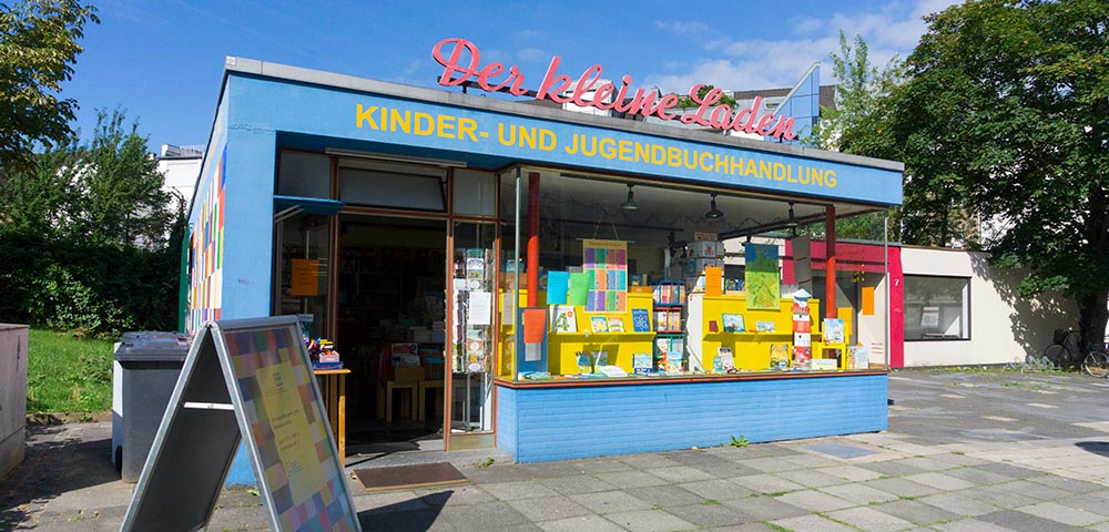 Kleiner Laden in der Budapester Straße in Bonn